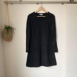 Madewell | Walkaway Grey Sweater Dress XS
